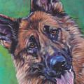 German Shepherd by Lee Ann Shepard