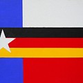 German-texan Flag by Damon White