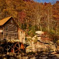 Glade Creek Grist Mill by Mountain Dreams