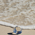 Glass Diamond On The Beach by Anthony Totah