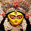 Goddess Durga by Chandrima Dhar