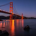 Golden Gate by Maricel Quesada