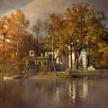 Golden Leaves  by Jaroslaw Blaminsky
