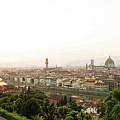 Golden Sunset Of Florence, Italy. by Antonio Gravante
