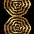 Golden Waves Hightide Natures Abstract Colorful Signature Navinjoshi Fineartartamerica Pixels by Navin Joshi