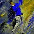 Golfplayer by Pol Ledent