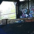 Graffiti Under The Bridge by Lenore Senior