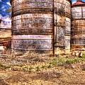 Grain Bins by Randy Waln