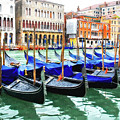 Grand Canal In Venice by Mel Steinhauer