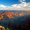Grand Canyon National Park - Sunset On North Rim by Glenn W Smith