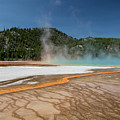Grand Prismatic Spring In Yellowstone National Park by John McGraw