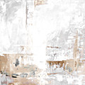 Gray Brown Abstract 12m3 by Voros Edit