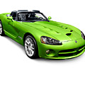 Green 2008 Dodge Viper Srt10 Roadster by Oleksiy Maksymenko