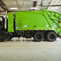 Green Garbage Truck Maintenance by Don Mason