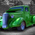 Green Machine by Tony Baca
