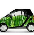 Green Mini Car by Oleksiy Maksymenko