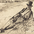 Greenwich Pensioner by James Mcneill Whistler