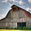 Grey Barn by Douglas Barnett