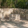 Groupo Mecanxoc At The Coba Ruins  by Carol Ailles