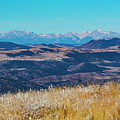 Grouse Mountain And Sangre De Cristo by Steve Krull