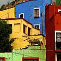 Guanajuato Hillside 3 by Mexicolors Art Photography