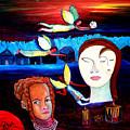 Guardian Angels by Pilar  Martinez-Byrne