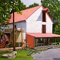 Guilford Mill by Larry Hoskins