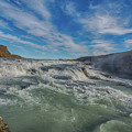 Gulfoss. by Angela Aird