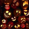 Halloween Pumpkins by Cristina Stefan