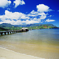 Hanalei Bay With Pier by Peter French - Printscapes