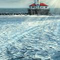 Harbor Light by Doug Kreuger