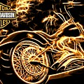 Harley-davidson by Aaron Berg