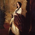 Harriet Howard Duchess Of Sutherland Franz Xavier Winterhalter by Eloisa Mannion