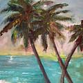 Hawaiian Palms by Jeanette Fowler