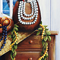 Hawaiian Still Life Panel by Sandra Blazel - Printscapes