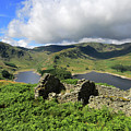 Haweswater Reservoir, Mardale Valley, Lake Dist by Dave Porter