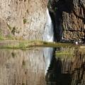 Hawk Creek Falls by Charles Robinson