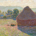 Haystacks, Midday by Claude Monet