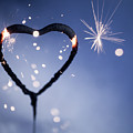 Heart Shape Sparkler by Kati Finell