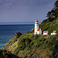 Heceta Head Historic Oregon Lighthouse by Teri Virbickis