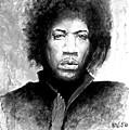 Hendrix Portrait by William Walts