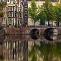 Herengracht Canal. Amsterdam. Netherlands. Europe by Bernard Jaubert