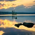 Highland Lake Sunset by Darylann Leonard Photography