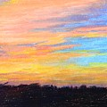 Hill Country Sunrise by Shirley Bland
