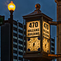 Historic Clock - Beaumont Texas by Mountain Dreams