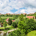 Historic Town Of Rothenburg Ob Der Tauber  by JR Photography