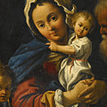 Holy Family by Bartolomeo Schedoni