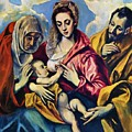 Holy Family With St Anne by El Greco
