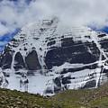 Holy Kailas North Slop Himalayas Tibet Yantra.lv by Raimond Klavins