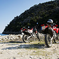 Honda Motorbikes On The Beach by Newnow Photography By Vera Cepic